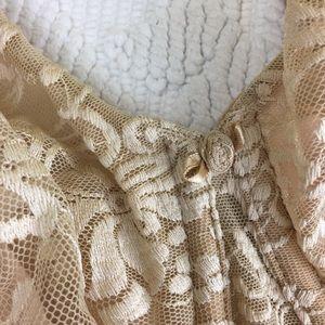 Cacique Intimates & Sleepwear - Cacique Tan Lace 40D Bra